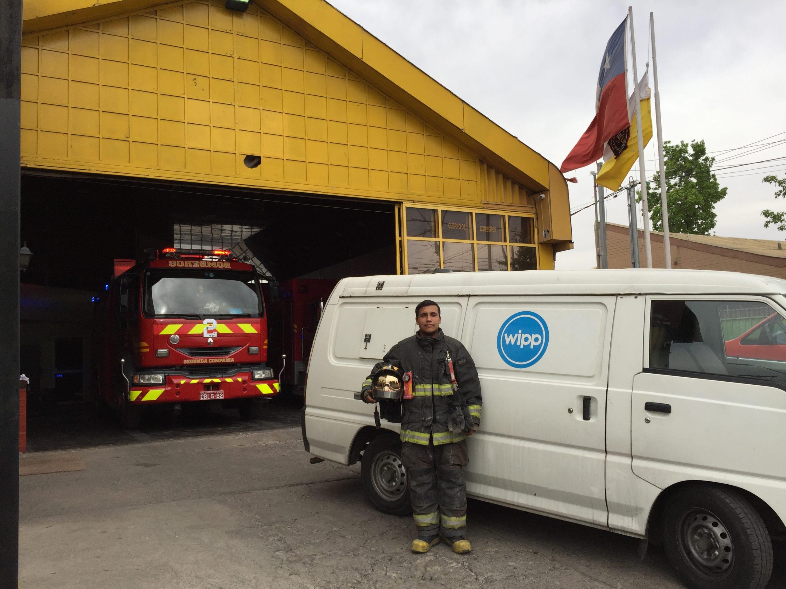 Limpieza a bomberos